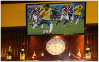 Digital signage services with top TV installers: big plasma TV rentals wall mounting.
